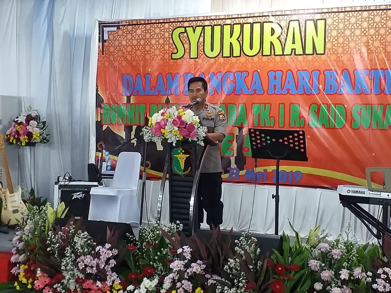 Dirgahayu Ulang Tahun Ke-53  R.S. Bhayangkara TK. I R. Said Sukanto