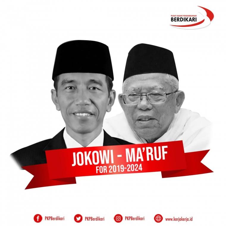 Di Balik Kemenangan Jokowi-Ma'ruf?