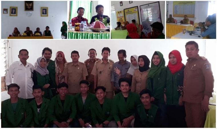 Mahasiswa Sekolah Tinggi Ilmu Pertanian YAPI Bone, Ber-KKN (Kuliah Kerja Nyata) di Bulan Ramadhan