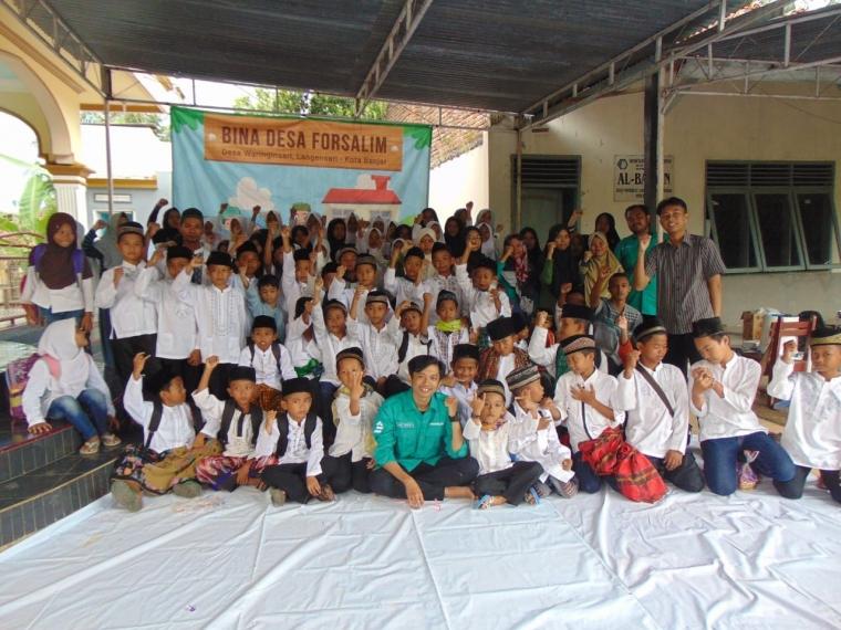 Kontribusi Forsalim Kota Banjar di Desa