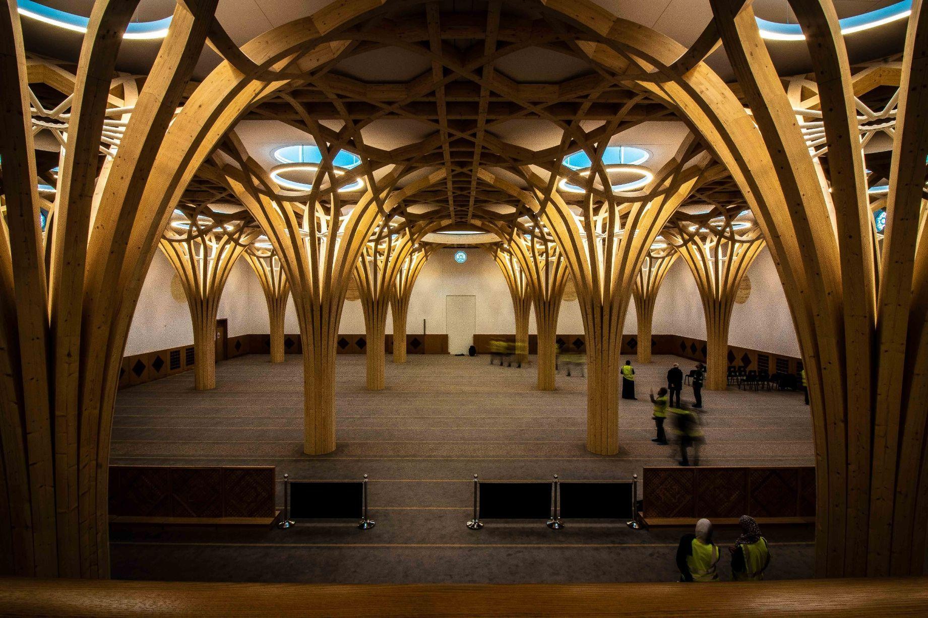 Cambridge Central Mosque, Surga Kecil di Tanah Inggris