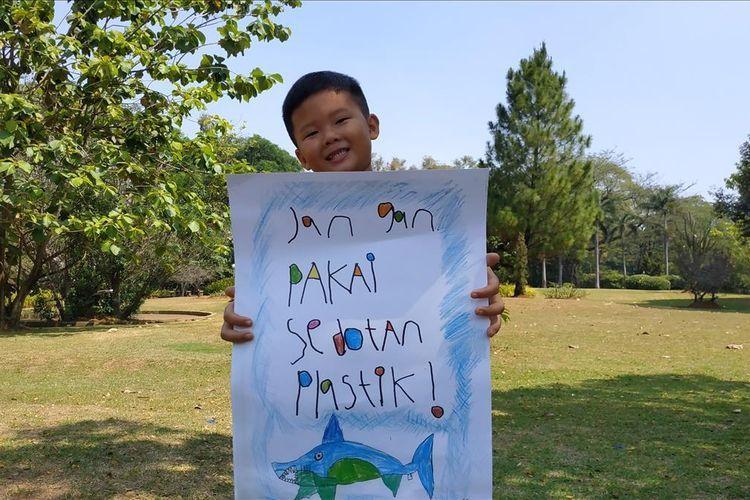 Viral, Teguran dan Pelajaran dari Bocah 7 Tahun Soal Sampah Plastik