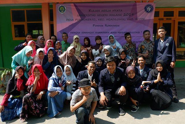 Gebyar Semangat Ramadhan Bersama Para Siswa SDN Purwokerto 1