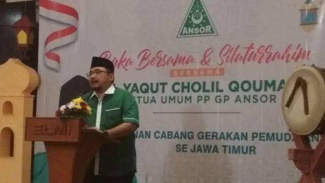 Menakar Kapasitas Yaqut Cholil Qoumas sebagai Menteri