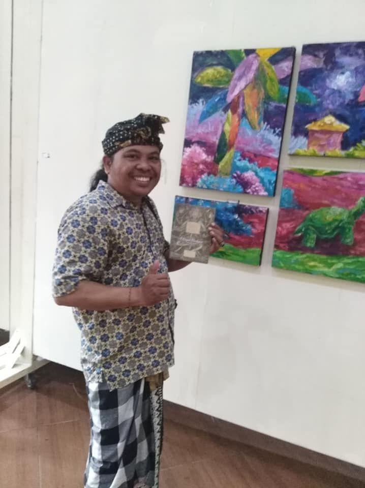 Wayan Wartayasa, Ngurip Angga, Museum Puri Lukisan