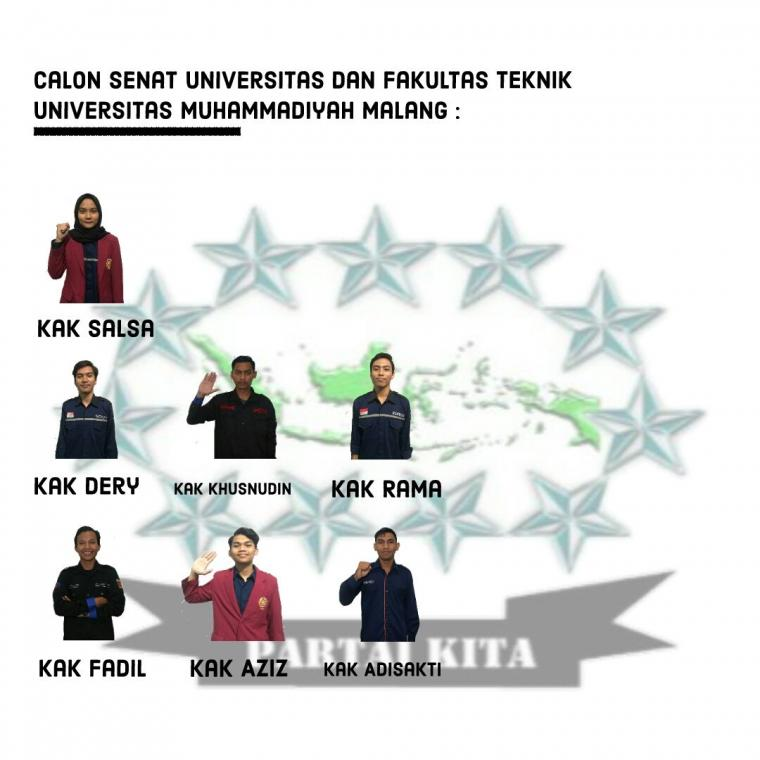 Generasi Emas, Calon SEFA Partai KITA Siap Bawa Perubahan