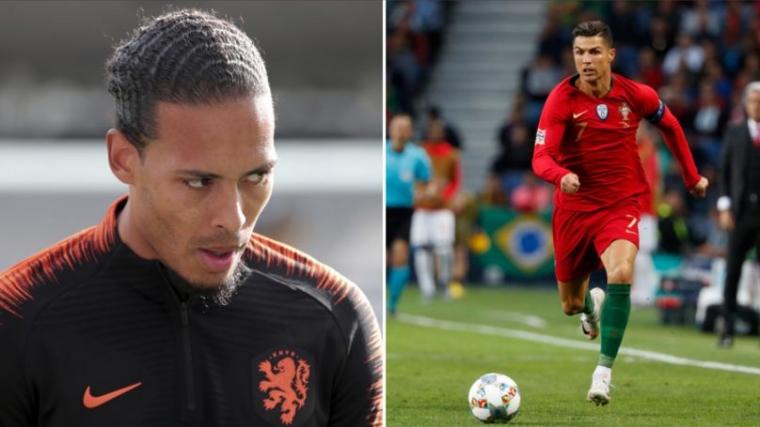 Jelang Final UEFA Nations League Portugal vs Belanda