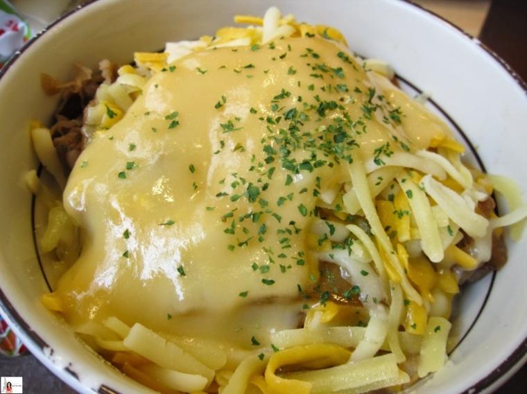 """Gyudon Mozzarella Cheese"", Kejunya Lumer di Mulut jika Dimakan Panas"
