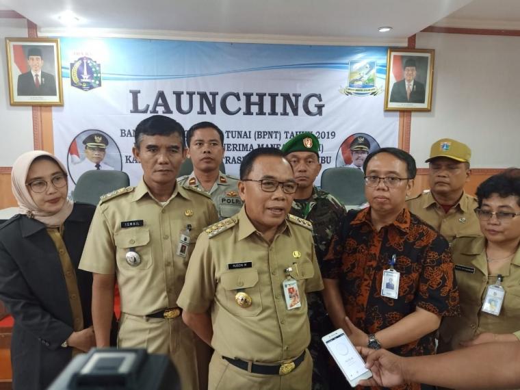 Launching BPNT, 513 KPM di Kepulauan Seribu Dapat Bantuan Pangan