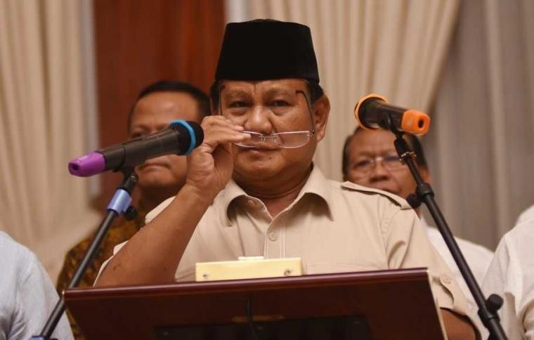 6 Pesan Menyejukkan Prabowo Jelang Gelar Sidang di MK