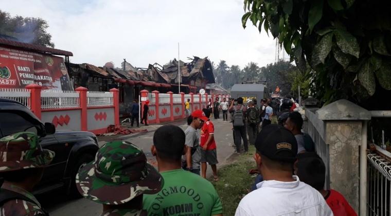 Reportase Aksi Amuk Napi Rutan Sigli Jelang Lebaran