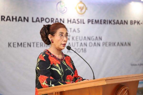 Rahasia Kesuksesan Menteri Susi Pudjiastuti, Meraih Opini WTP