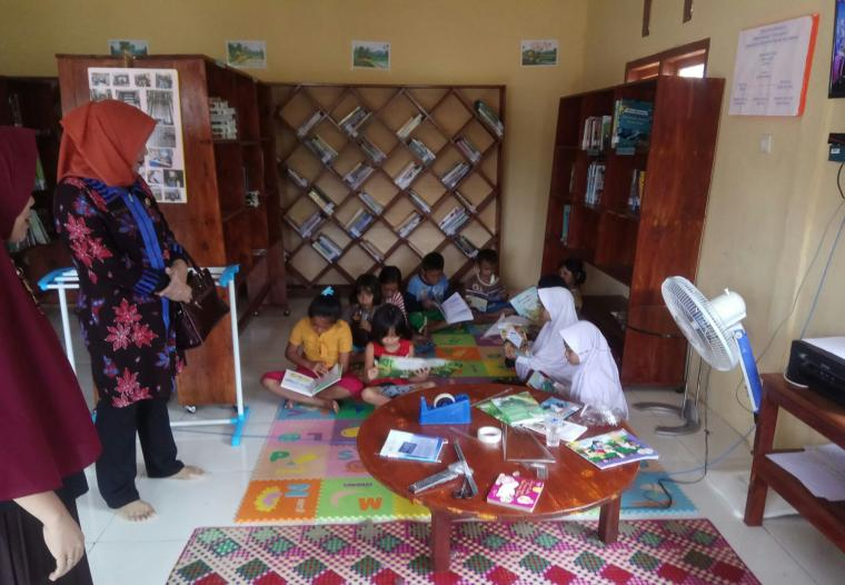 DKP Bangka Dorong Berdirinya Perpustakaan Desa