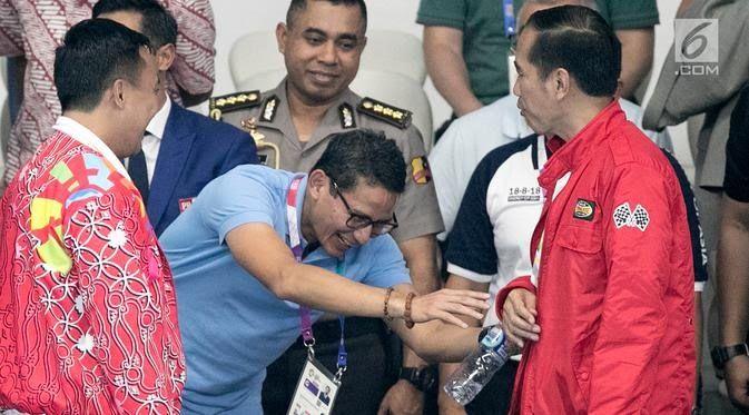 Katanya Informasi A1: Sandi Masuk Kabinet Jokowi