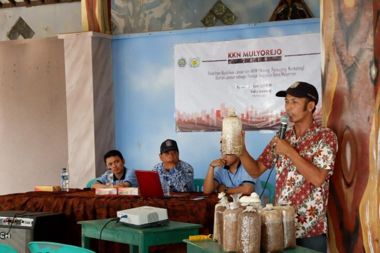 Pelatihan Budidaya Jamur dan MPM Olahan Jamur, Produk Unggulan Desa Mulyorejo