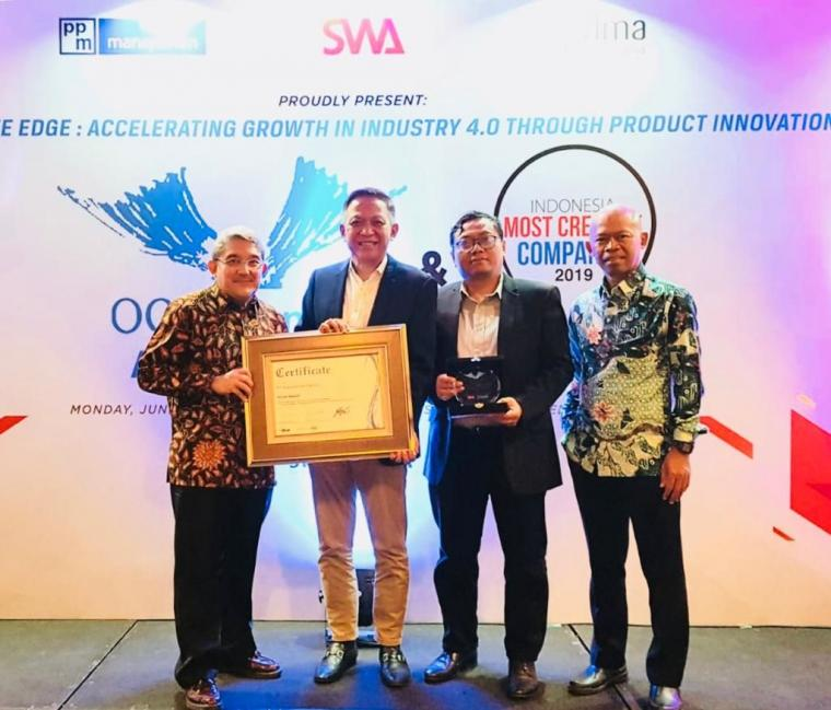PATRIA Raih Penghargaan The 5th Outstanding Corporate Innovator Indonesia Award