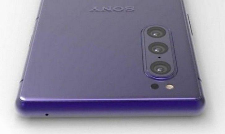 Ponsel Sony Baru Muncul dengan Setup Tiga Kamera Baru