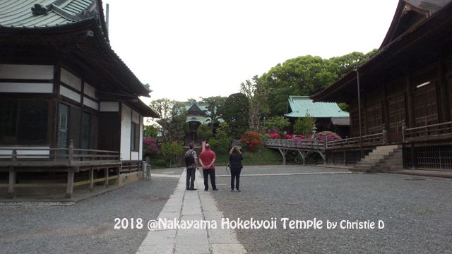 Kompleks Kuil Nakayama Hokekyo-Ji di Pedesaan Shimosa Ichikawa dalam Jepang Modern