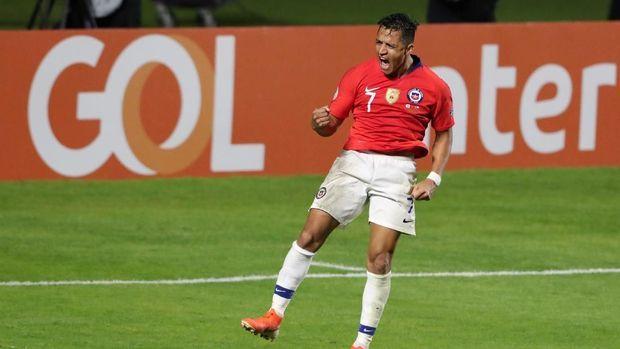 Ini Arti Gol Alexis Sanchez untuk La Roja di Copa America 2019