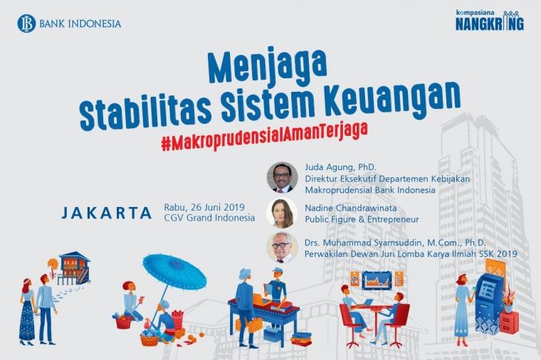 Ngobrol Santai Soal Makroprudensial bareng Bank Indonesia di Jakarta, Yuk!