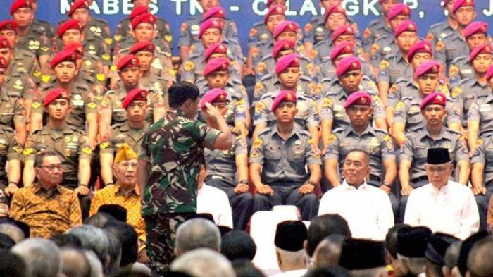 Personil TNI Terpapar Radikalisme Setara 12 Batalion