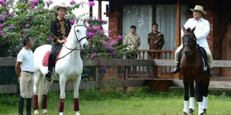 Jika Gagal Jadi Presiden, akankah Prabowo Berkuda dengan Jokowi Lagi?