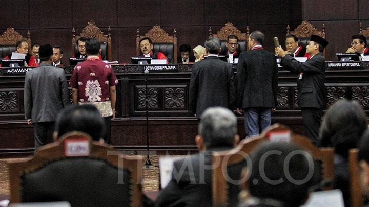 Putusan Sidang Mahkamah Konstitusi Sudah Ada Kode