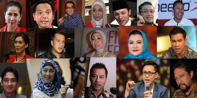 Daftar 91 Caleg Artis di Pileg 2019 dan yang Lolos ke Senayan