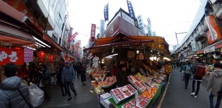Merasakan Atmosfer Lain dari Jepang di Yokocho