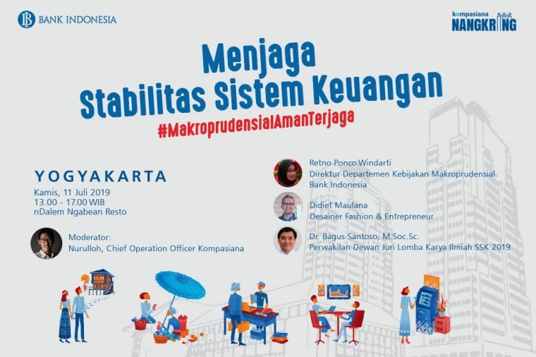 Ikuti Serunya Ngobrol Makroprudensial bersama Bank Indonesia di Yogyakarta