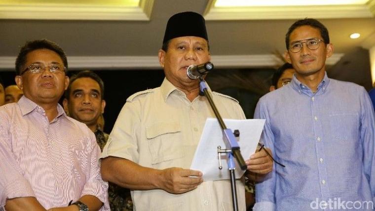 Langkah Hukum dan Konstitusional Prabowo, Sia-siakah?