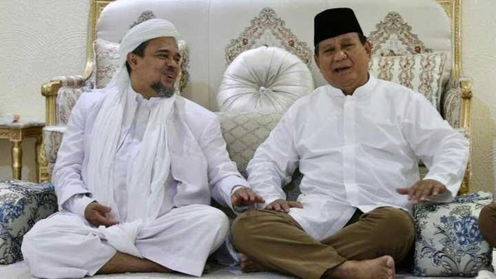 Prabowo Tersandera Rizieq Shihab?