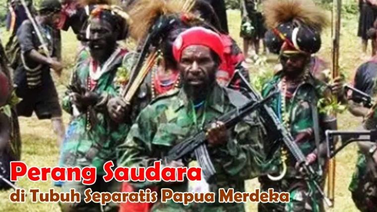 Perang Saudara di Tubuh Separatis Papua Merdeka