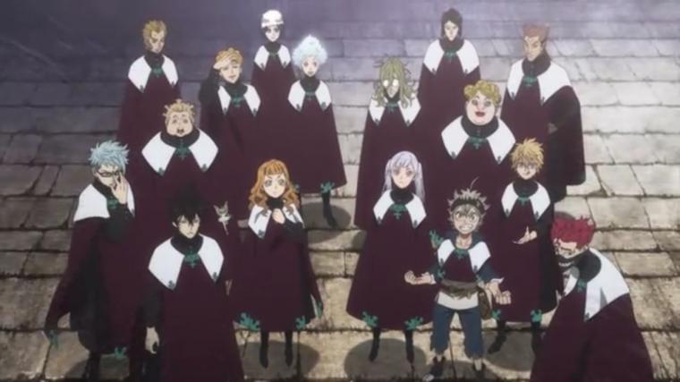 """""""Formasi Royal Knight"""" Berkumpulnya Ksatria Pilihan dalam Black Clover (87)"""