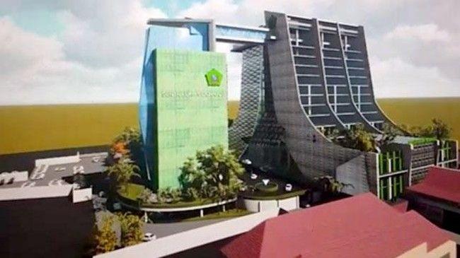 Pengajuan Kembali Anggaran Rp 500 Miliar untuk Gedung Terpadu 17 Lantai