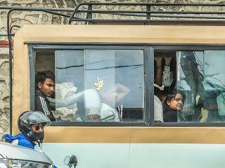 Bus Kota Kathmandu Nepal