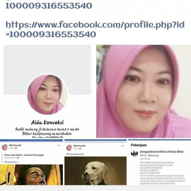 "Sebut Jokowi ""The New Firaun"" Apakah Emak Cantik Ini Durhaka pada Suami?"