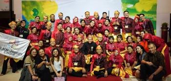 Telkom University Choir Raih Juara di Taipei International