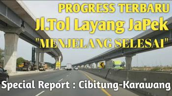 Bulan November Ini Jalan Tol Layang Jakarta Cikampek Sudah