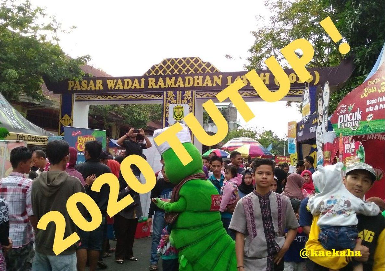 """Pesan Bijak di Balik """"Runtuhnya"""" Eksistensi Pasar Wadai Ramadan di Banjarmasin"""