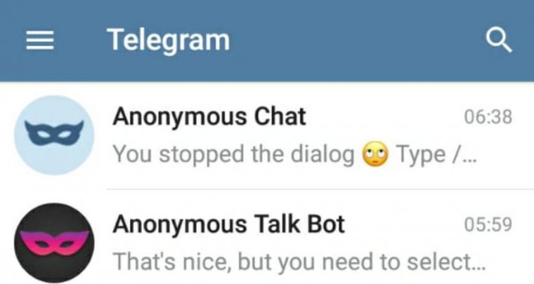 Cara Anonymous Chat Telegram Bot Yang Gampang Halaman 1 Kompasiana Com