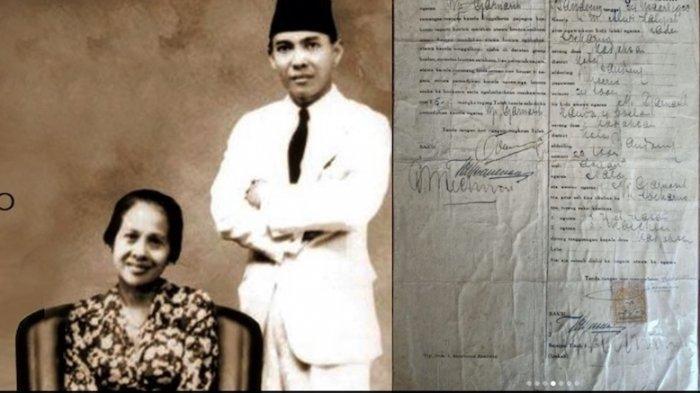 Menyelisik Surat Cerai Soekarno dan Inggit dalam Perspektif Hukum Perkawinan