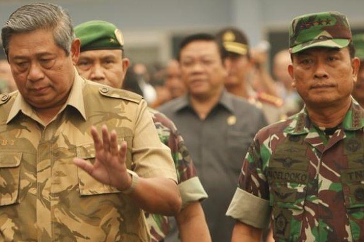 """Dulu Mesra, Moeldoko Sempat Dianggap """"Penghubung"""" SBY dan ..."""