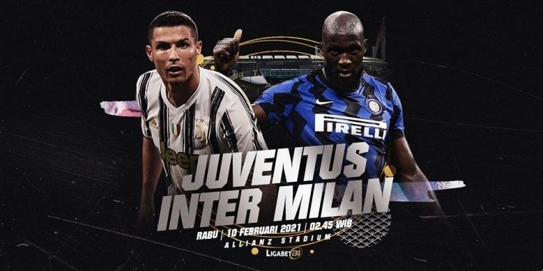 Juventus Vs Inter Milan 10 Februari 2021 Kompasiana Com