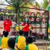 Ajarkan Menabung, Bank Sinarmas Edukasi Keuangan di TBM Lentera Pustaka