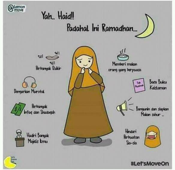 Datang Bulan di Awal Ramadan? Jangan Sedih! Lakukan 7 Hal Ini agar Tetap Produktif