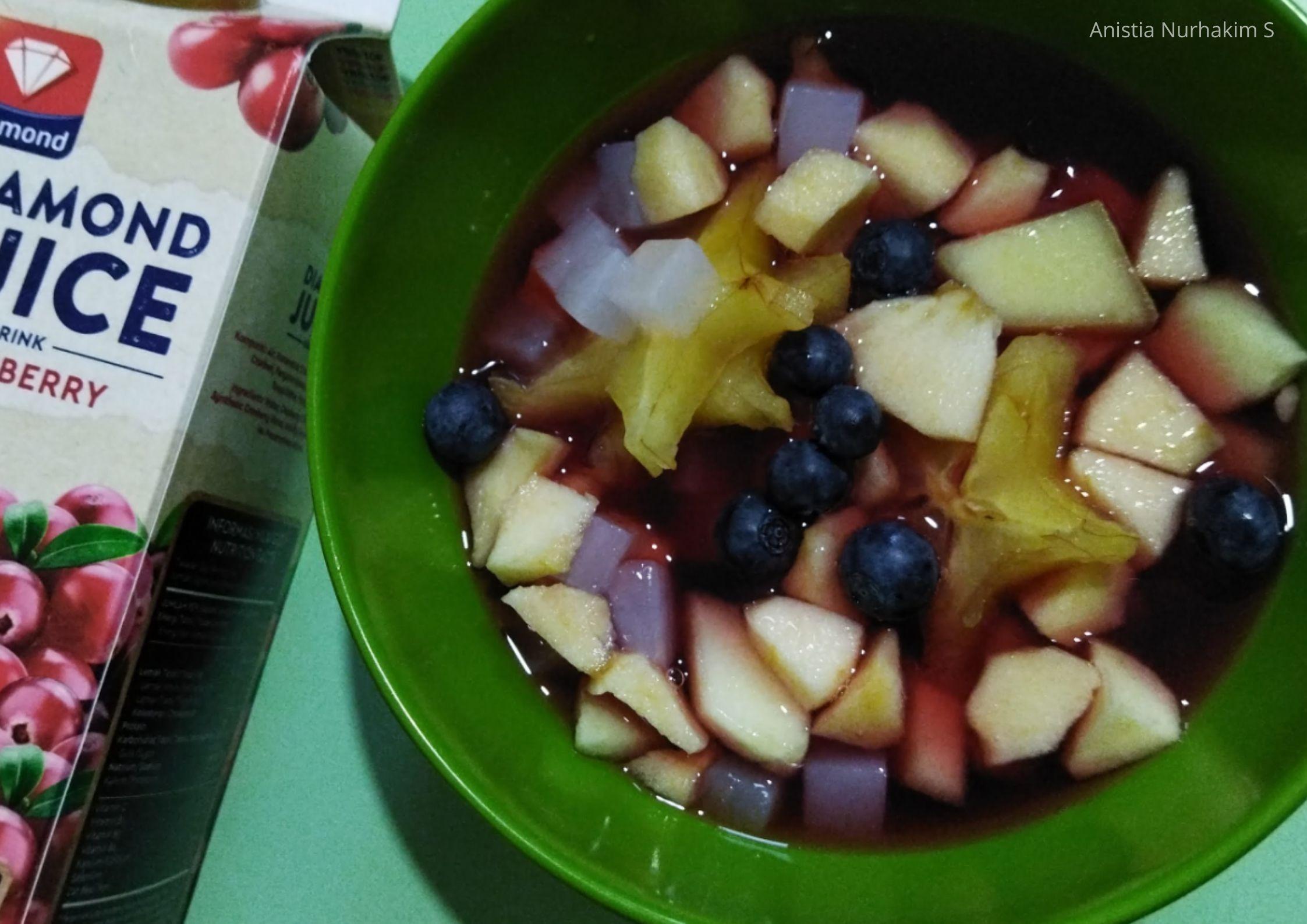 Resep Untuk Berbuka, Sop Buah Cranberry dan Suki-Suki Simpel