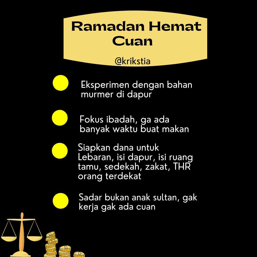 Ramadan Hemat Cuan