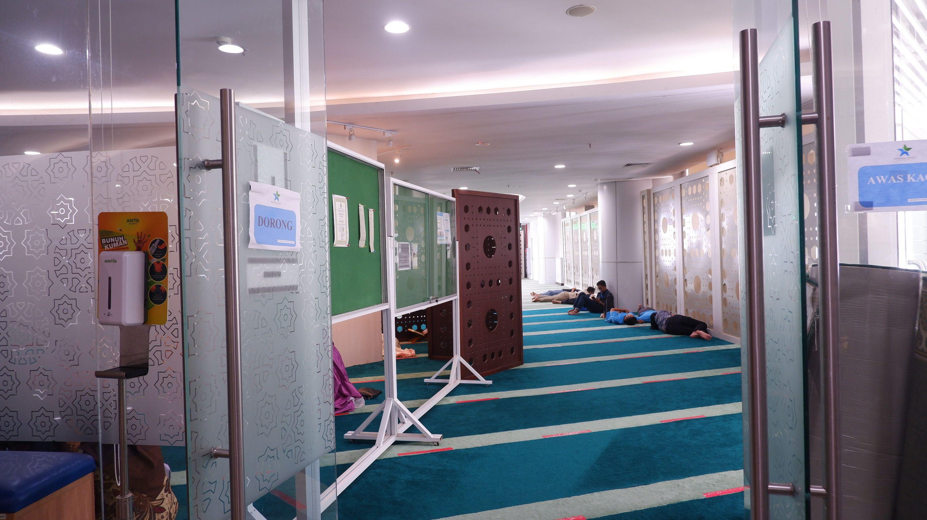 """Menjelajah Masjid di Tengah Lautan Ilmu """"Nurul Ilmi"""" Perpusnas, Ada Apa Saja?"""