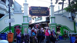 Mengenang Tradisi Lek-Lekan Saat Sahur di Kawasan Ampel Surabaya